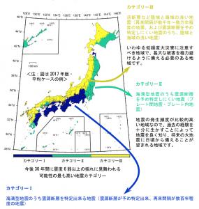地震カテゴリー